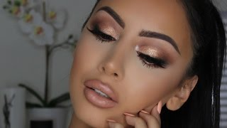 Popping Gold Smokey Eye | Gemma Isabella