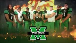 Marshall University Football 2016 intro