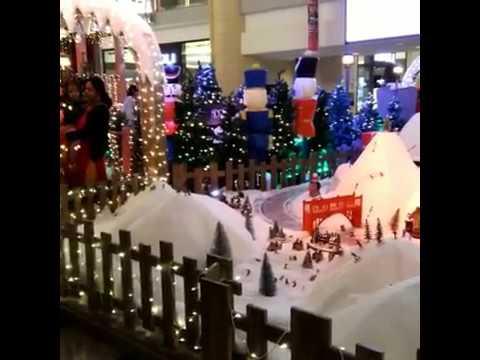 Christmas in Abu dhabi Mall