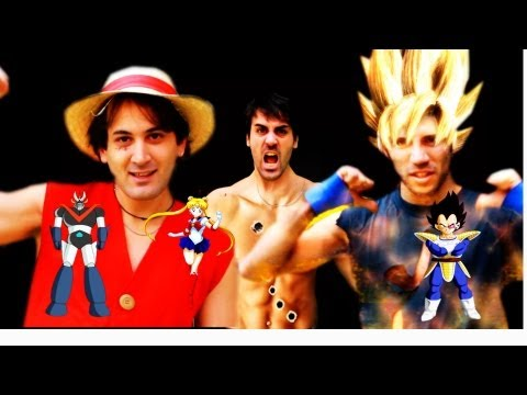 ANIME / MANGA BATTAGLIA RAP feat GOKU, RUFY, KEN SHIRO e VEGETA