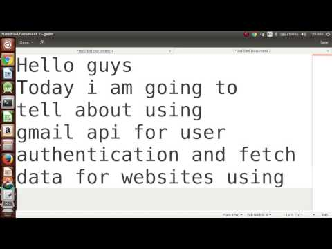 Startup companies - Gmail Api Support for websites in python - YouTube