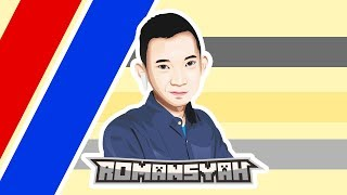 ROMANSYAH MODE GANTENG - SPEED VECTOR ART