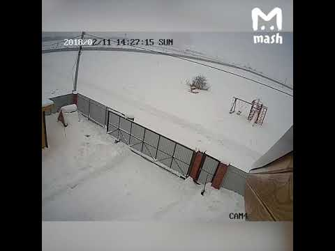 Видео крушения самолёта Ан-148 в Мособласти.