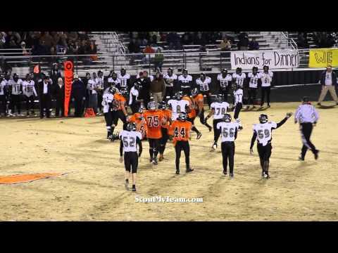 First Half of Louisa versus Powhatan 11-18-2011 Group AA, Region ll Football Game