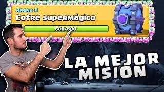 CONSIGO EL MEJOR COFRE DE MISION DE CLASH ROYALE - SUPERMAGICO GRATIS thumbnail