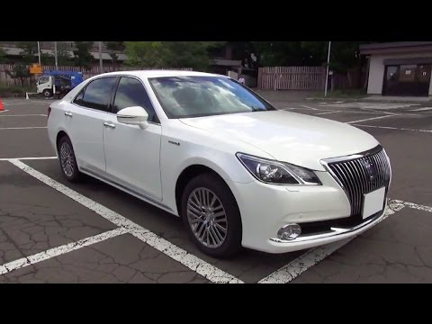 2014 New TOYOTA CROWN MAJESTA Four - Exterior & Interior