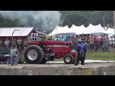 Tractor Pull, Addison County Field Days Vermont 2016