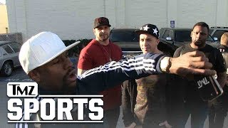 Floyd Mayweather Gives TMZ Photog Tour Of New $2 Million Fleet! | TMZ Sports