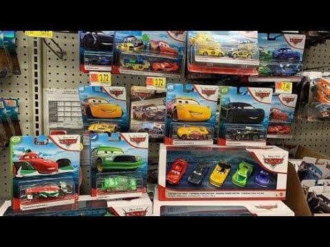 Disney Cars Diecast Hunt 23 2020 Blue Desert Card Backs