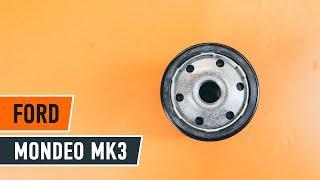Как се сменят Държач Спирачен Апарат на FORD MONDEO III Saloon (B4Y) - онлайн безплатно видео