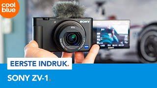 Sony ZV-1 - Sony's eerste echte vlogcamera