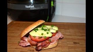 Tefal Actifry 2 in 1 Бутерброд с беконом и авокадо