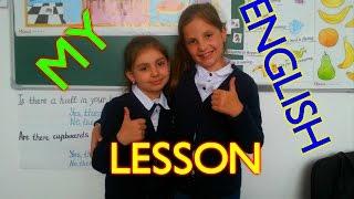 Урок английского языка / My English Lesson(В этом видео, я показываю как мы проводим урок английского языка., 2016-05-18T11:00:01.000Z)
