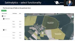 Educational webinars - Session C - So you got images of Earth. What next? SatAnalytics suite