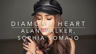 DIAMOND HEART - ALAN WALKER & SOPHIA SOMAJO (Covered by Waliana Amay)