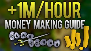 osrs 1m hour money making method no requirements