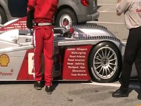 Audi R8 LMP at Daytona