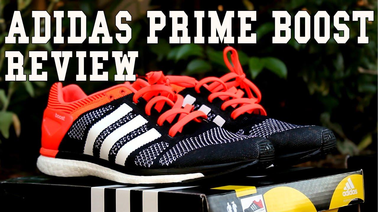 best service 0e4ce d7ecd adidas adiZero Prime Boost Review + Nike Flyknit Comparison