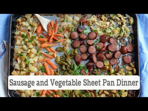 Easy Sausage and Vegetable Sheet Pan Dinner