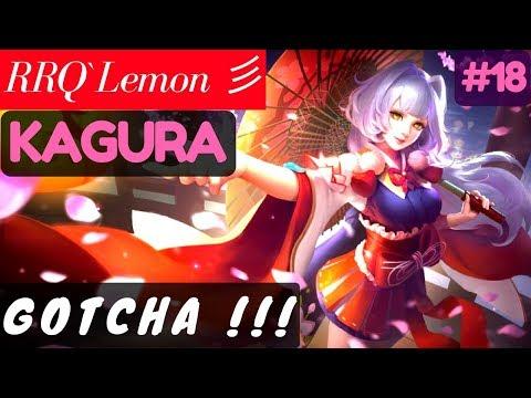 GOTCHA !!!!! [Rank 1 Kagura] | RRQ`Lemon 彡 Kagura Gameplay and Build #18 Mobile Legends