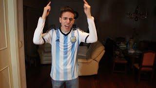 REACCIONES DE UN HINCHA Penales Chile vs Argentina - Copa América 2015
