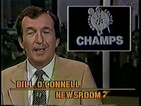Various Boston TV coverage of Celtics winning 1981 NBA Championship.