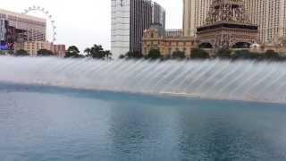 Las Vegas - Bellagio Fountain Show