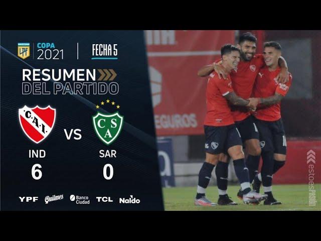 Copa De La Liga | Fecha 5 | resumen de Independiente - Sarmiento