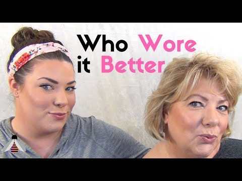 Swapping Makeup Routines with my Daughter