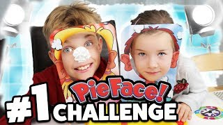 PIE FACE Duell & PIE FACE Sky High FAMILY CHALLENGE#4 - Lulu & Leon - Family and Fun