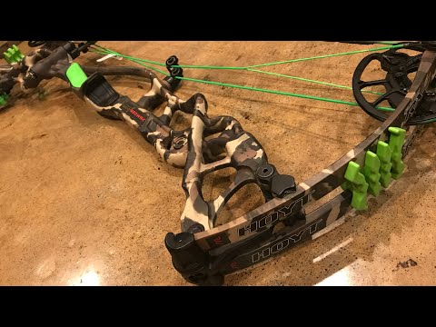YOU'VE GOT TO SEE THIS NEW BOW! CUSTOM DIPPED HOYT REDWRX