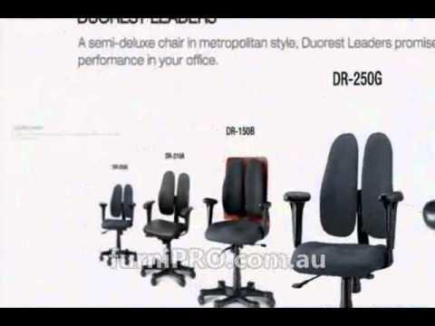 Duorest Ergonomic DUOBACK Chair