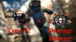 Dead Trigger 2: Type 92 + Damage Booster = Awesomeness !