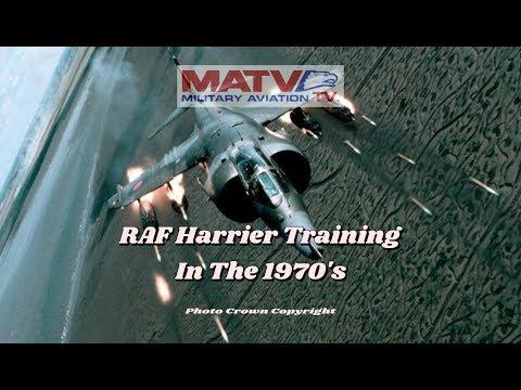 Harrier Heritage.  British Harrier Training In The 1970's