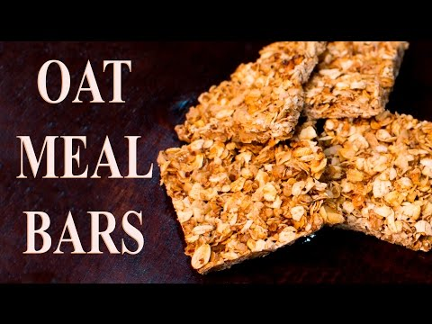 Oat bar how to make homemade oatmeal bar