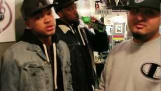 MassMoneyBoyz, Vado, & Luu Breeze Promo in NYC @ Smash Studios