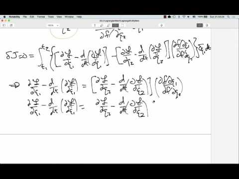 23.2: Lagrangian Mechanics: Lagrange Multipliers