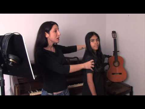 Proper Singing Posture for Young Singers