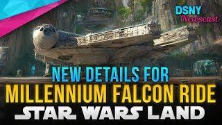 New MILLENNIUM FALCON Queue Details Revealed for Star Wars Galaxy's Edge - Disney News - 4/16/19