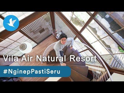 EPS. 16 #NginepPastiSeru Di Villa Air Natural Resort Bareng Kevin Hendrawan