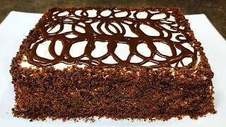 Торт МГНОВЕНИЕ за 15 минут ВМЕСТЕ С ВЫПЕЧКОЙ Просто и очень вкусно
