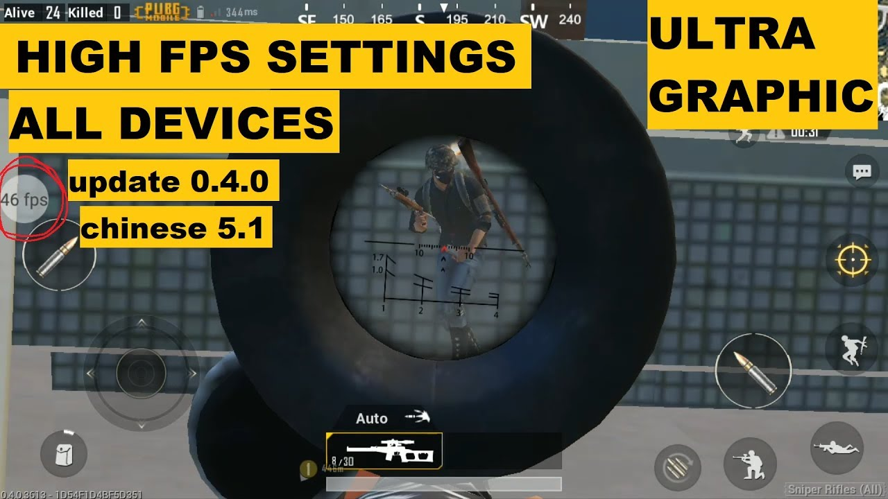 Pubg Mobile Unlock Ultra Hd Graphics Hindi: PUBG MOBILE GET 60 FPS On Low Spec, Works On Every Device