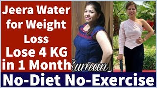 Jeera Water for Quick Weight Loss | Cumin Seeds | Lose Upto 4 KG in 1 Month | Fat to Fab