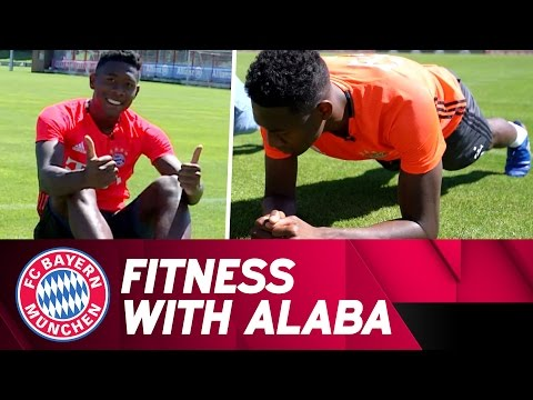 Fitness with David Alaba | FC Bayern