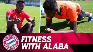 Fitness with david alaba   fc bayern