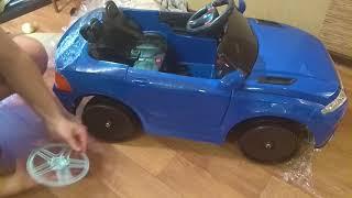 Детский электромобиль Land Rover обзор и сборка