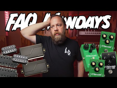FAQ Mondays 303: Best Pickups & Favorite OD808 Version