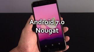 Android 7.0 Nougat, principales novedades