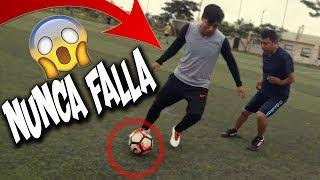 El mejor regate de espaldas para burlar a tu rival en el futbol/ trucos de futbol/Hacks futbol