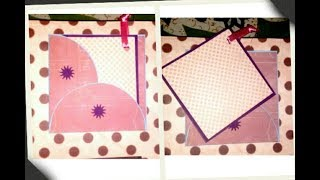 Cute Envelope card || Lovely Handmade card || crafts and Crunch